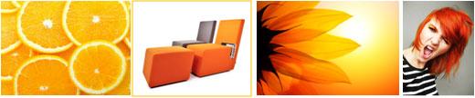 Оранжевый цвет в брендинге