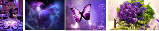 Фиолетовый цвет в брендинге