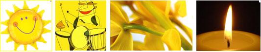 Желтый цвет в брендинге