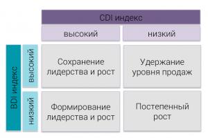 BDI-CDI-strategy